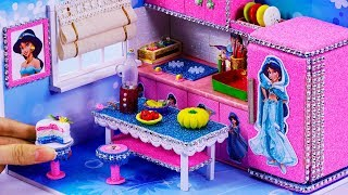 DIY Miniature Jasmine Dollhouse ~ 12 Kitchen crafts: fridge, stove, blender and more