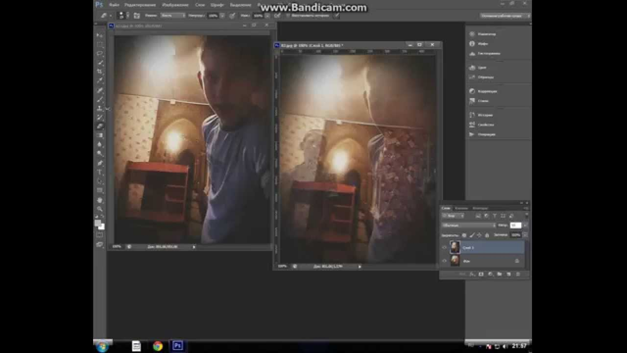Как сделать photoshop своего фото