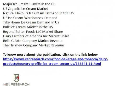Dairy Farmers of America Inc Market Share, Major Ice Cream Players in the US - Ken Research