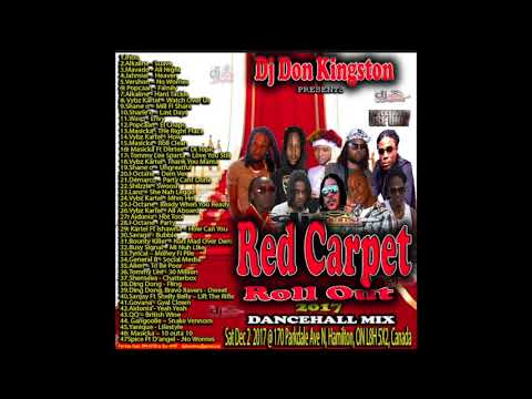 Dj Don Kingston Presents Red Carpet Roll Out Mixtape Dec 2017