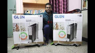 Glen Oil Filled Radiator Heater Unboxing And Overview! ( Is It worth It? )