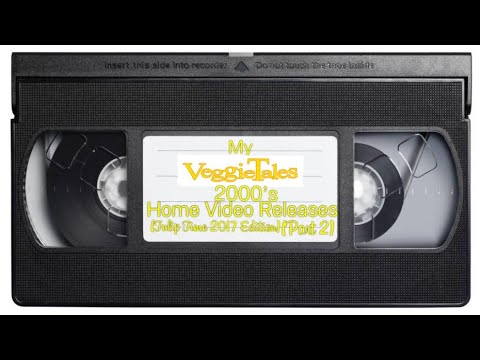 My Veggie Tales 2000's Home Video Releases Tulip Time 2017 Edition Part 2
