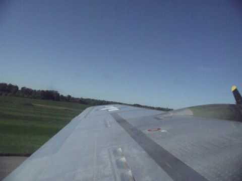 B-17 Sentimental Journey Landing