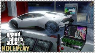 GTA 5 ROLEPLAY - Break in HUGE Car Garage & The Owner Arrived   Ep. 209 Criminal