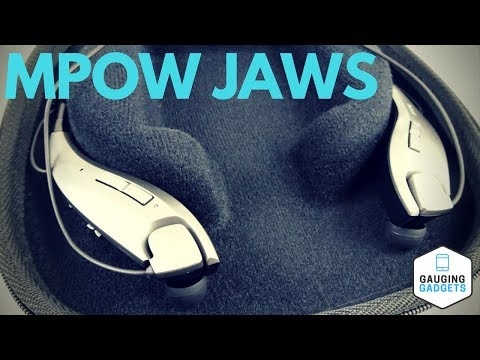 Mpow Jaws Headphones Review - Bluetooth Neckband Earbuds - Gen-4