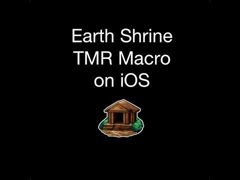 FFBE - How to Run a Earth Shrine TMR Macro on iOS