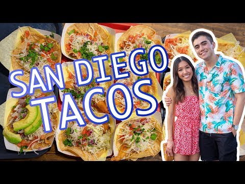 SAN DIEGO: 5 BEST TACO SHOPS (Food Guide)