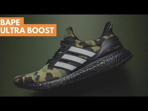 b8cda5de2 ADIDAS BAPE ULTRA BOOST FIRST IMPRESSIONS!!! - YouTube