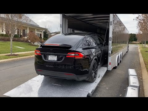 Detailed Tesla Model X P100D Owners Review -  First Week Impressions on this Murdered-Out Super-SUV