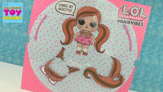 NEW LOL Surprise Hair Vibes Blind Bag Doll Unboxing Mix & Match Hairstyles Review | PSToyReviews