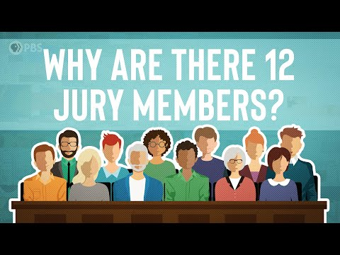 Why Are There 12 People On A Jury?