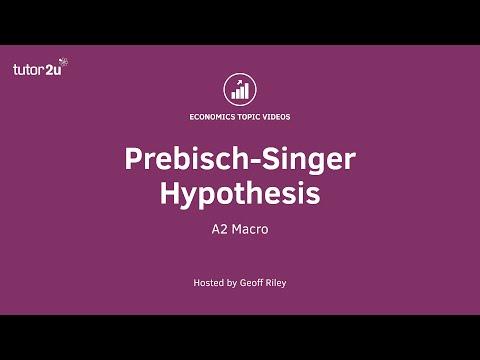 Prebisch-Singer Hypothesis