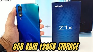 VIVO Z1x unboxing 8GB ram 128GB storage Fusion blue colour - offline model