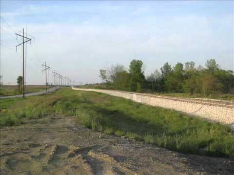 Duke Energy rebuilding a section of the Pennsylvania Railroad in Knox Co. Indiana