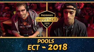 Injustice 2 Pro Series: East Coast Throwdown 2018 (Pools) WhiteBoi, Slayer, Forever King, Deoxys