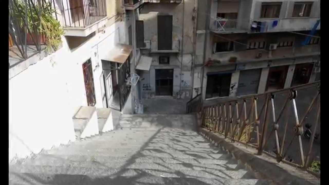 pallonetto di santa lucia rampa e scale escursione