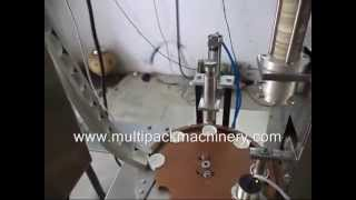 Wad fixing machine, Wad Assembling Machine ,Cap Wad Inserting fixing Wadding Machine