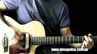 "How to play ""Oh come all ye faithful"" on guitar"