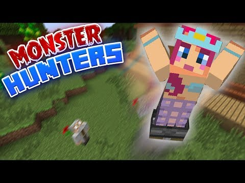 BOUNCY BOOTS! | Monster Hunters Ep.2 | Minecraft Roleplay thumbnail