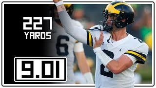 Shea Patterson Debut Full Highlights Michigan vs Notre Dame || 9.01.18 || 227 Yards