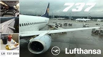 Frankfurt - Zurich ✈ Lufthansa Boeing 737-300 [Tripreport]