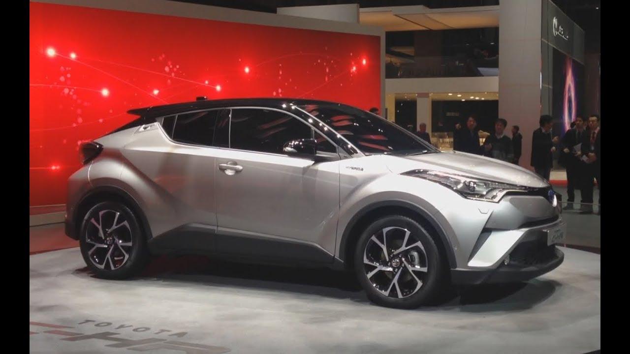 La Toyota CH-R au salon de Genève - YouTube