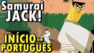 Samurai Jack - The Amulet of Time (GBA) - O Início em Português