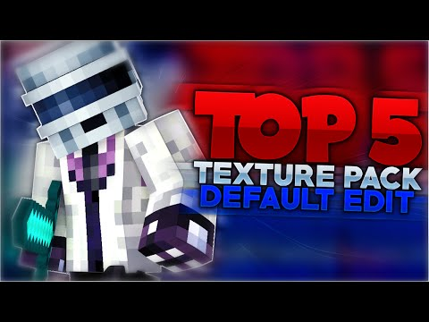 TOP 5 TEXTURE PACKS PARA PVP EN MINECRAFT (DEFAULT EDIT)