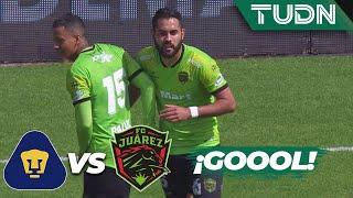 ¡José Esquivel hace un auténtico GO-LA-ZO! | Pumas 1 - 1 Juárez | Liga MX - AP 2019  - J18 | TUDN