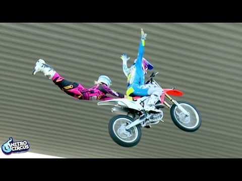 MUST WATCH: World First Brother & Sister Tandem FMX