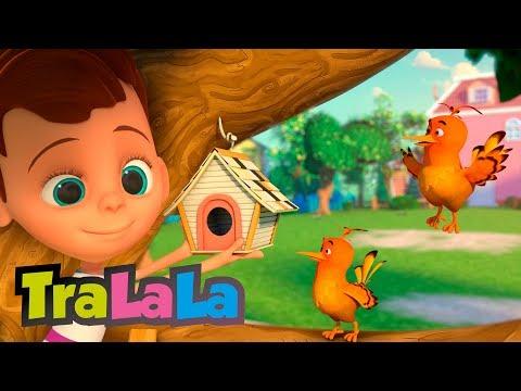 Cantec nou: Doua pasarele - Muzica vesela pentru copii mici - TraLaLa