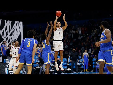 Jalen Suggs Game-Winning Buzzer-Beater - UCLA vs. Gonzaga - Final Four 2021