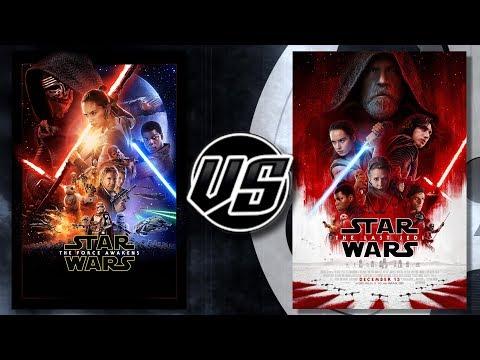 Star Wars The Force Awakens VS The Last Jedi