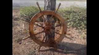 Building a wooden ships wheel