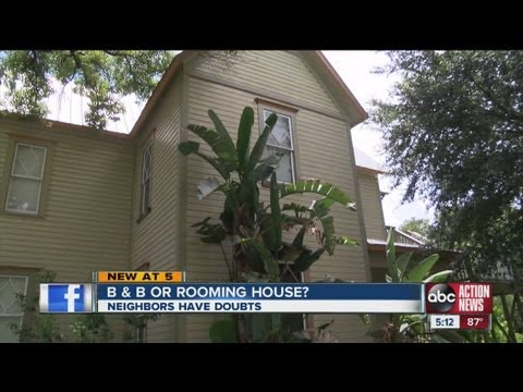 Plans to open Bed & Breakfast in Tampa causing controversy