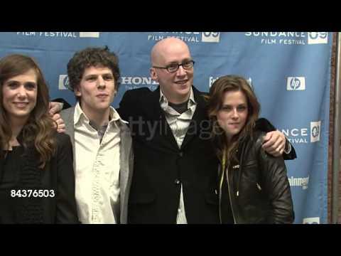 Martin Starr Jesse Eisenber Bill Hader Greg Mottola Kristen Stewart    Stock Footage Video   Getty I