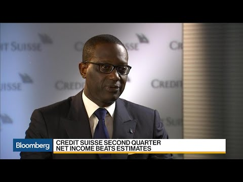Credit Suisse's CEO on Earnings, Business Strategy