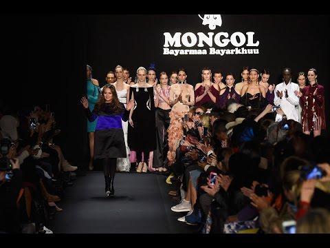Mongol brand Bayarmaa Bayarkhuu Fall Winter 2015-2016