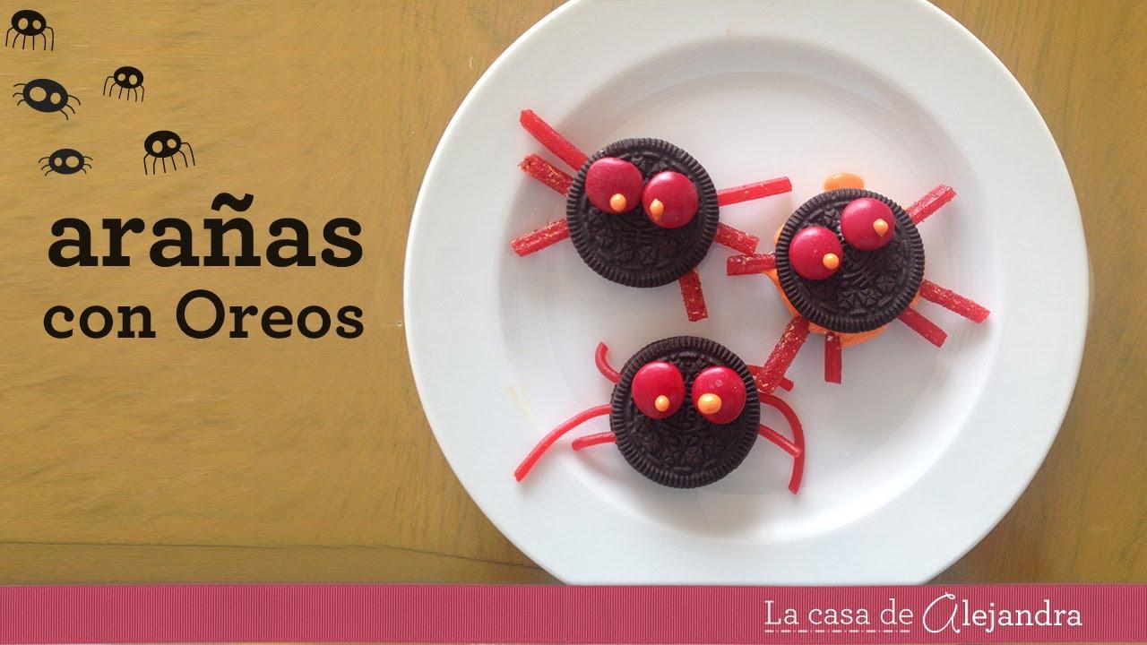 Arañas Con Galletas Oreo Diy Oreo Spiders