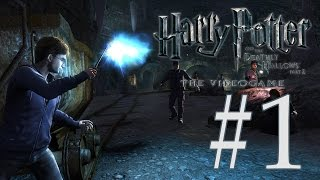 Harry Potter and the Deathly Hallows part 2 - Walkthrough part 1 (HD) - (Xbox 360 / PS3 / PC)