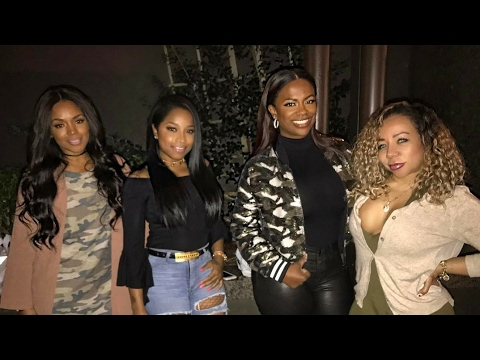Kandi Burruss restaurant tour from Real Housewives of Atlanta