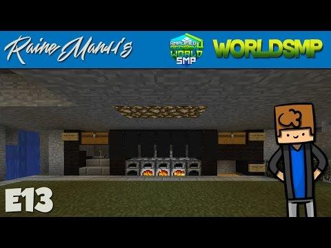"Minecraft TheWorldSMP::S4:E13 ""Kotie's Ore Smelter"""