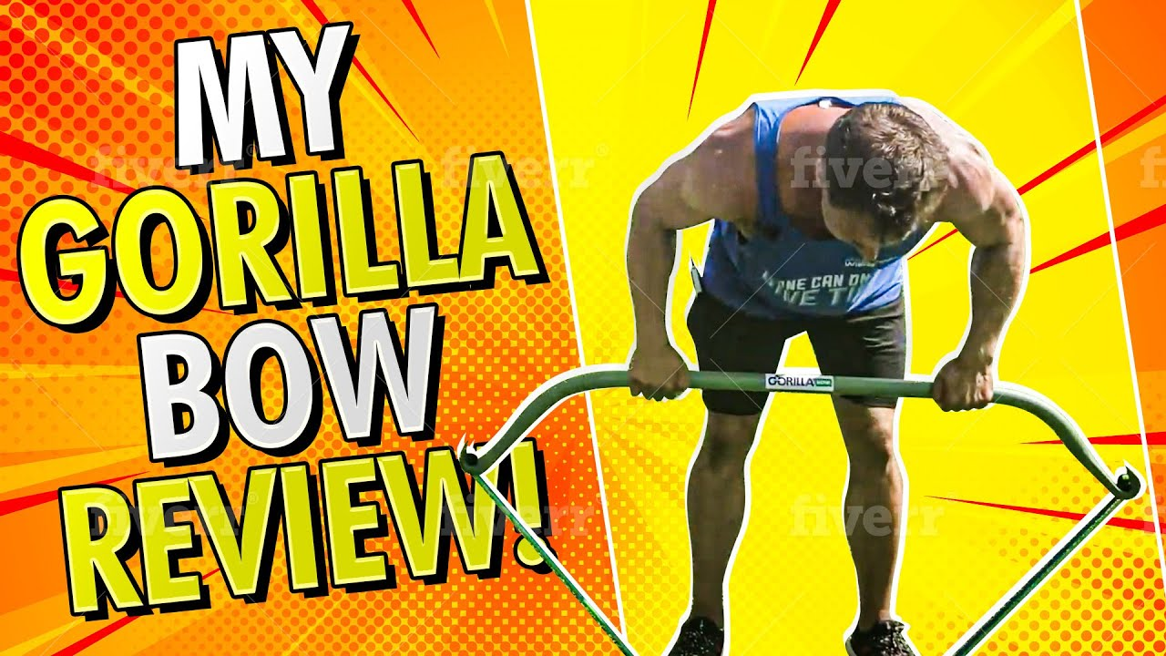 My Gorilla Bow Review for Leg & Gym Resistance Training Workout