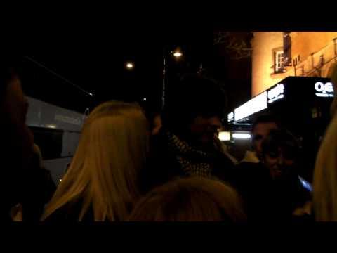 John Levén with fans after the gig @ Shepherd's Bush - London, UK 20-02-2010