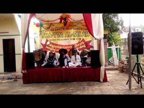 Marawis Cilik El-Laharja Serang   Luar biasa berani tampil