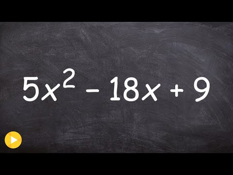 Factoring Polynomials Using Box Method