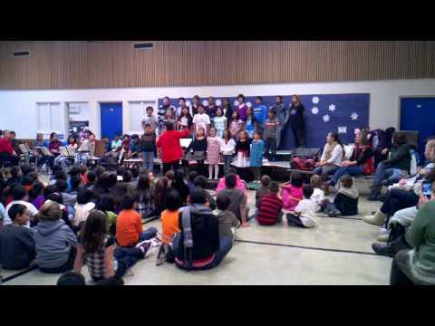 Harvey Green Elementary School Glee Performance