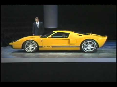 Ford GT40 announced 2002 - YouTube