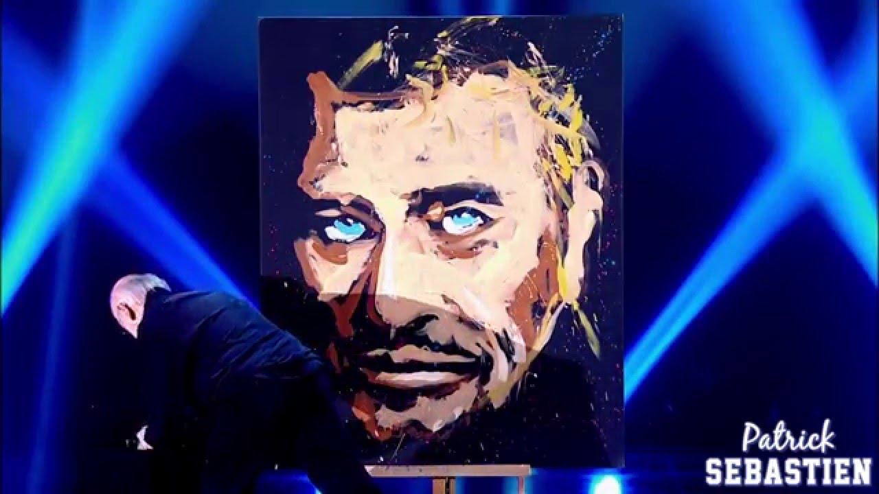Hommage A Johnny Hallyday Jean Pierre Blanchard Peintre Le