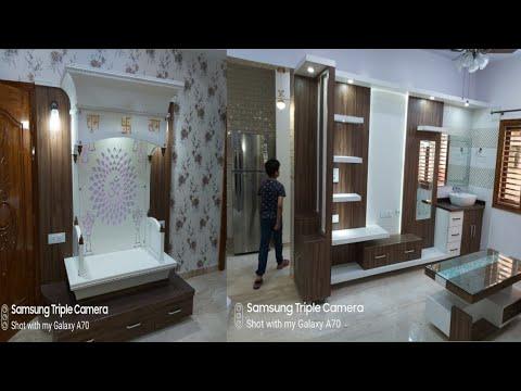 पूजा के लिए मंदिर डिजाइन (TV unit Living Room design vanity Wash Basin) TV unit design Temple